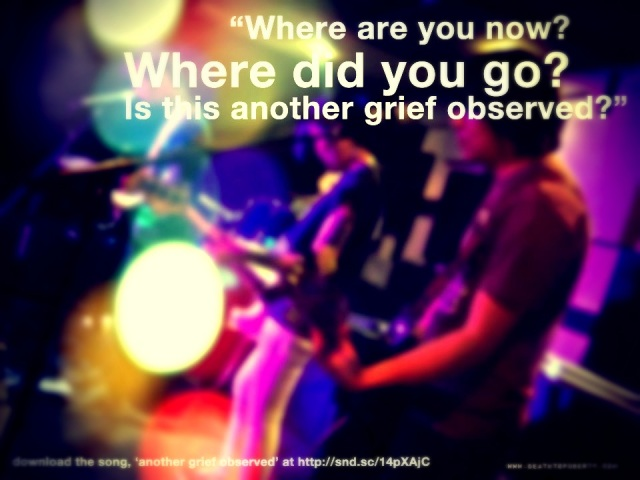 another grief observed